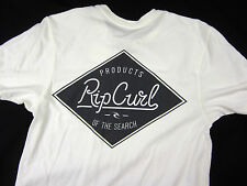 Rip Curl Surf Premium tailored fit short sleeve t shirt men's white size XL