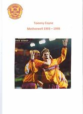 TOMMY COYNE MOTHERWELL 1993-1998 ORIGINAL HAND SIGNED PICTURE CUTTING