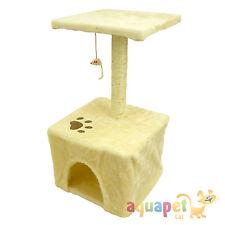 Arbre de chat avec house, le sisal pole, Plateforme et souris jouet