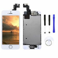 LCD Display Touch Digitizer Screen Assembly+Home Button  for iPhone 5S White New