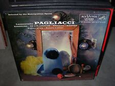CELLINI / LEONCAVALLO pagliacci ( classical ) 2lp box rca - booklet -