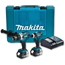 Makita 2 Piece 18V 4.0Ah Li-on Combo Kit with Hammer drill and impact driver