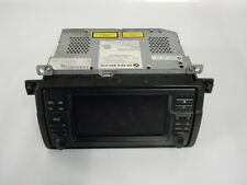 #M13564 BMW 316TI COMPACT E46 2001 RADIO AUDIO SAT NAV DISPLAY UNIT 6934410