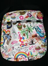 LeSportSac Onolicious Hawaii Exclusive LE Cross Body Messenger Bag Retired Print