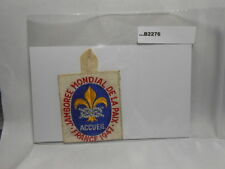 1947 1947 WORLD JAMBOREE  ACCUEIL   B2276