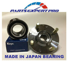 1992-00 HONDA CIVIC DX LX HX FRONT WHEEL HUB & BEARING SET KOYO JAPAN W/O ABS