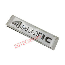 ABS Auto car 4Matic 4 Matic BADGE STICKER FOR MERCEDES BENZ W124 CLS E R S CLASS