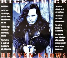 Heaven Knows/Rarities [Limited Twin Pack] by Rick Price (CD) BRAND NEW!