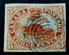 nystamps Canada Stamp # 1 Used $1000
