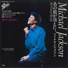 """Michael Jackson She's out of my life (7"""" Japon - 1979)"""