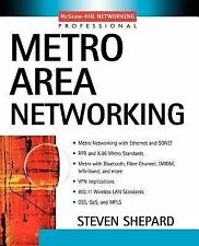 Professional Telecom: Metro Area Networking by Steven Shepard (2002, Paperback)