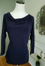 New Boden Dark Blue Long Sleeves Pullover Top Wool  Size UK14  US10  BEYOU