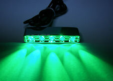 12V DC Green 5 LED pod D.I.Y path step accent light for home motorcycle car boat