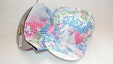 NWT NEW ERA HAT CAP FITTED 59FIFTY MIAMI MARLINS SIZE 8 DOT BLUE PINK WHITE