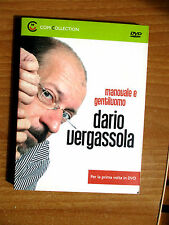DVD DARIO VERGASSOLA manovale e gentiluomo ComiCollection 15