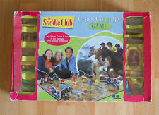 The Saddle Club Cross Country Board Game 2003 Complete Horse TV Show