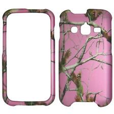 Pink Camo Evergreen  For Samsung Galaxy Rugby Pro i547 Tuff Cover Case Snap on