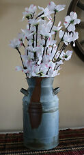 Dairy Can Milk Can Tin Rustic Wedding Utensil Holder Primitive Country Farmhouse