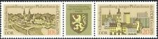 Germany 1976 Gera/Stamp Day/Church/Clock Tower/Buildings/Coat-of-Arms 2v n43598
