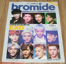 BROMIDE EXO B.A.P VIXX K-POP MAGAZINE 2014 JUNE NEW
