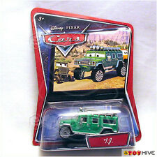 Disney Pixar Cars Walmart Exclusive Green TJ Hummer - variant card