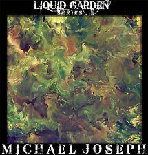 Modern Abstract Art original painting by Michael Joseph green garden Landscape