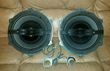 RARE SET OF Vintage HI FI  CORAL 12TX-1 TRIAXIAL 3 WAY SPEAKERS
