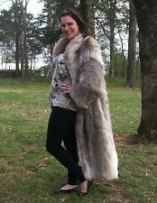 1960's vintage Canadian Lynx full length fur coat