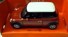 Welly NEX 1:43 Mini Cooper  Diecast Car With Pull Back Action