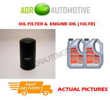 DIESEL OIL FILTER + FS 5W40 ENGINE OIL FOR RENAULT ESPACE 2.2 114 BHP 1997-98
