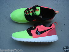 Nike Air Roshe Run HYP Premium QS 43 Volt/Black-Hyper Punch
