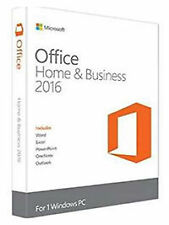 Microsoft Office 2016 Home and Business Windows English PC Key Card T5D-02375