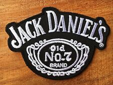 Jack Daniel's EMBROIDERED PATCH IRON ON or SEW on clothes . classic cool No.7