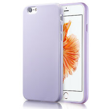 For Apple iPhone 6S 4.7 Silicone Lavender Case Soft Gel Cover Bumper Rubber Skin