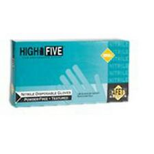 High Five N204 Powder Free Industrial Nitrile Gloves - X-Large, 10 Boxes