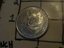 vintage coin/medal: North Shore Animal League DOG AND CAT