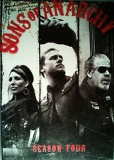 SONS of ANARCHY The COMPLETE FOURTH SEASON All 13 Episodes + Special Features