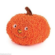 Grunting Pumpkin Halloween Plush Moppy Fabric Grunts Crinkles fun for Toss Play