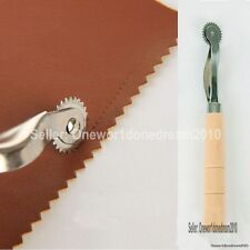 New 2mm Overstitch Wheel Leather Stitch Spacing Paper Perforating Tool Roulette
