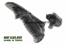 HG Angled Foregrip & Thumb Rest for Airsoft AEG GBBR 20mm RAS RIS - Black