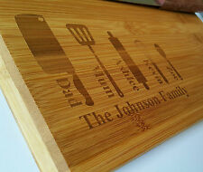 Personalized wooden chopping cutting board,house-warming Family Christmas gift