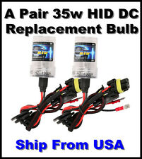H4 Hi/Lo Beam 3000/6000/8000/10000/12000k-DC Xenon HID Replacement Bulbs-35w