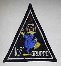 PATCH RARA F-104 STARFIGHTER 102° GRUPPO CBO 100000 ORE