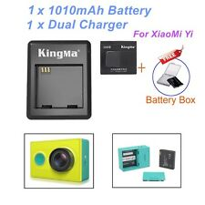 Kingma Battery and Kingma Dual desktop charger for Xiaomi Yi Action camera