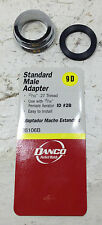 """STANDARD MALE ADAPTER 15/16""""-27 THREAD USE WITH 15/16"""" FM AERATOR STOCK #36106B"""