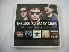 JESUS & MARY CHAIN - ORIGINAL ALBUM SERIES - 5CD BOXSET NEW SEALED