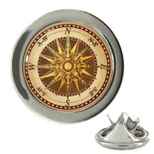 Vintage Style Compass Metal 20mm Lapel Pin