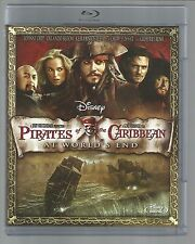 PIRATES OF THE CARIBBEAN 3 WORLD'S END - UK BLU-RAY  (mint/unplayed) - slim case