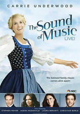 The Sound of Music Live! DVD * 2014 * Carrie Underwood * NEW