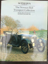 Sotheby's classic car auction the norman collection de billes 1991